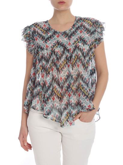 Isabel Marant Étoile - Multicolored Edison blouse
