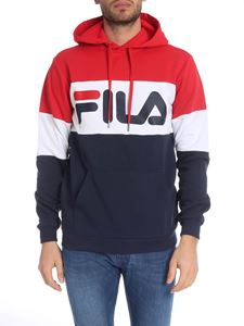 Fila - Fila hoodie in blue, red and white