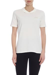 Lacoste - Lacoste LIVE polo in ivory
