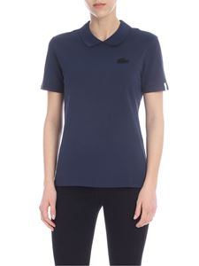 Lacoste - Lacoste LIVE polo in blue