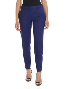 Paul Smith - Blue pure wool trousers