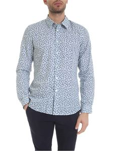 Paul Smith - Flower and pine needles pattern shirt in white
