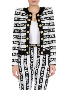 Balmain - Balmain jacket in black and white