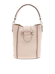 Tod's - Powder pink Double T bucket bag