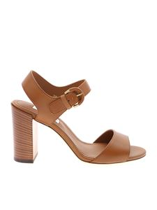 Tod's - Brown leather sandals
