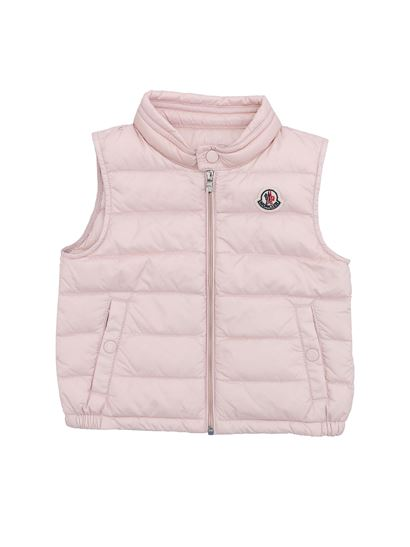 Moncler Jr - Pink New Amaury sleeveless down jacket