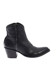 Mexicana - Star 5 texas boots in black