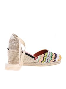 Castaner - Carina striped wedges in multicolor
