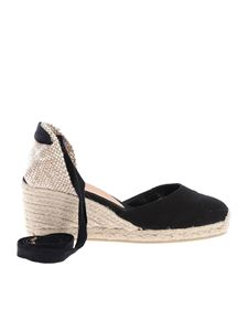 Castaner - Carina wedges in black