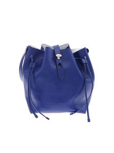Hogan - Patent leather bag in bright blue