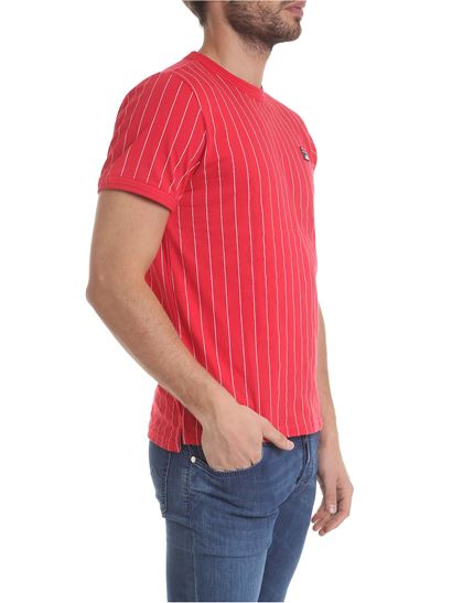 da383f4dcb6e Fila Spring Summer 2019 red t-shirt with vertical stripes - 684500 G70