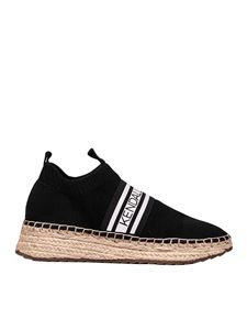 Kendall + Kylie - Jake sneaker in black with rope sole