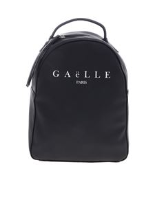 Gaelle Paris - Gaelle Paris printed backpack in black