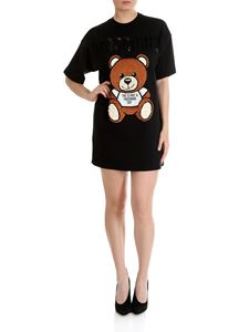 Moschino - Black Teddy Bear dress with sequins