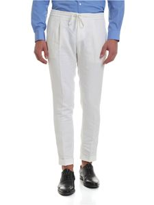 Paolo Pecora - Pants in white pure linen