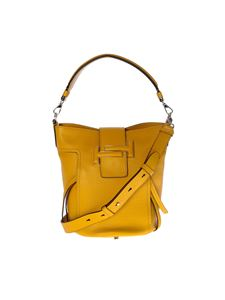 Tod's - Double T bag in yellow leather