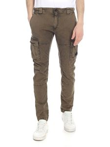 CP Company - Green stretch cotton trousers