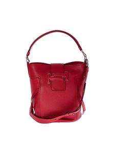 Tod's - Double T bag in red leather