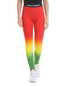 Paco Rabanne - Multicolor leggings with gaiters