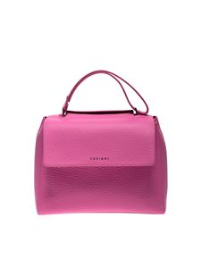 Orciani - Sveva hand bag in fucshia