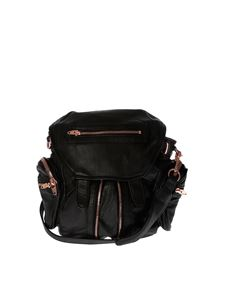 Alexander Wang - Mini Marti backpack in black with zip