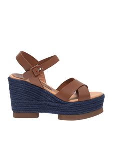 Paloma Barceló - Haru sandals in brown leather