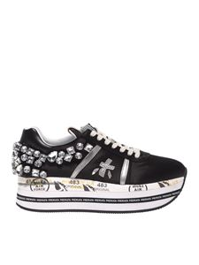 Premiata - Beth sneakers in black with rhinestones