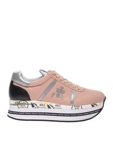 Premiata - Beth sneakers in pink leather