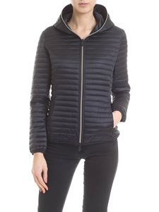 Save the duck - Black down jacket with synthetic padding