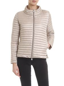 Save the duck - Beige quilted down jacket