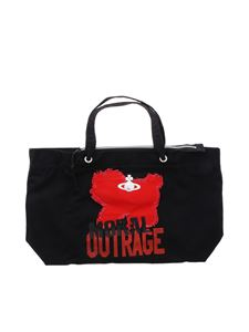 Vivienne Westwood Anglomania - Borsa Westminster Moral Outrage nera