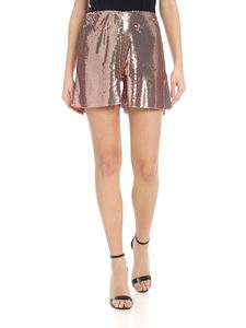 Jucca - Shorts oro rosa in paillettes