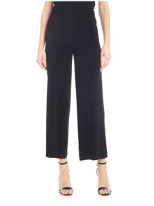 Jucca - Crepe trousers in black