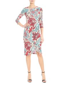 Jucca - Dress in pink with floral print