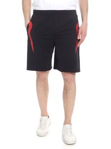 Kappa Kontroll - Flames shorts in black