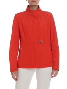 Fay - Jacket in red technical fabric