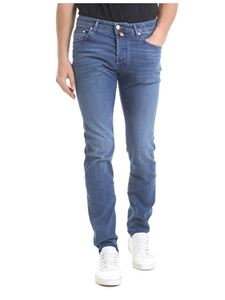 Jacob Cohën - Blue stretch denim jeans