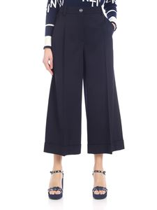 Valentino - Blue cropped trousers