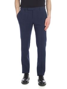Incotex - Blue Prince of Wales trousers