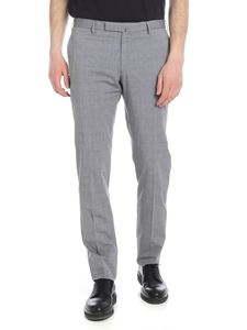 Incotex - Grey Prince of Wales trousers