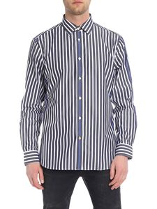 Paul Smith - Blue and white striped shirt
