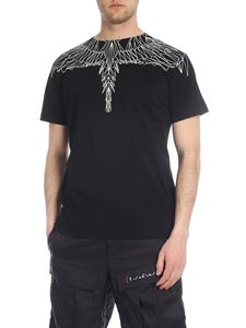 Marcelo Burlon - Black Neon Wings T-shirt