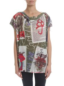 Vivienne Westwood  - Cotton blend t-shirt in multicolor