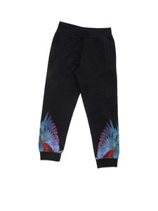 Marcelo Burlon Kids - Wings Colors pant in black