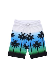 Marcelo Burlon Kids - Palms multicolor bermuda
