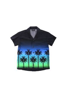 Marcelo Burlon Kids - Palme shirt in black