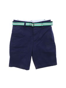 POLO Ralph Lauren - Bermuda in blue with belt