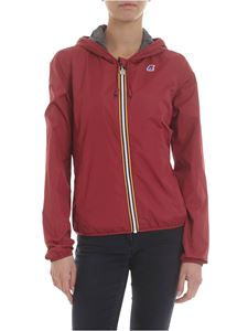 K-way - Lily Poly jacket in dark red