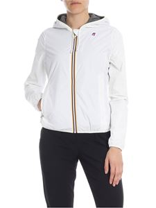 K-way - Lily Poly jacket in white