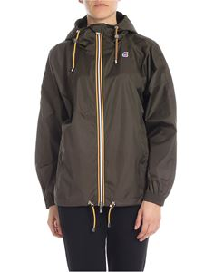 K-way - Marie Poly jacket in army green